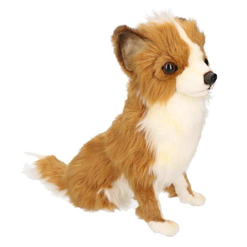 Hansa pluche Chihuahua honden knuffel 31 cm
