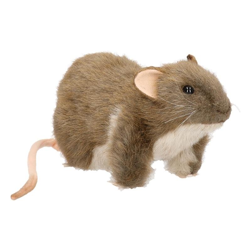 Hansa pluche rat knuffel 19 cm
