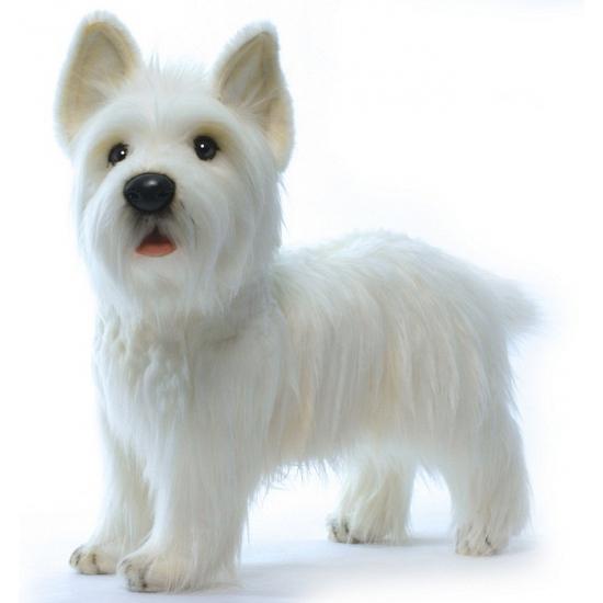 Hansa pluche West Highland Terrier knuffel 50 cm