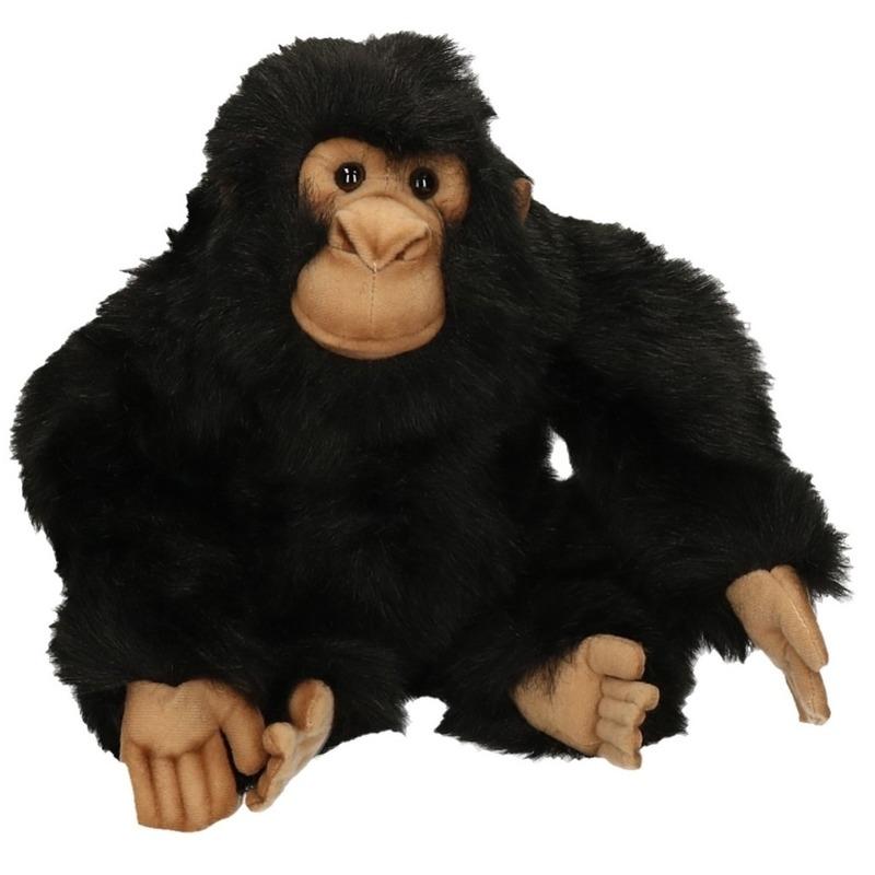 Hanse pluche chimpansee 25 cm