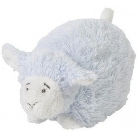 Happy Horse blauw liggend/staand pluche lammetje knuffel 26 cm