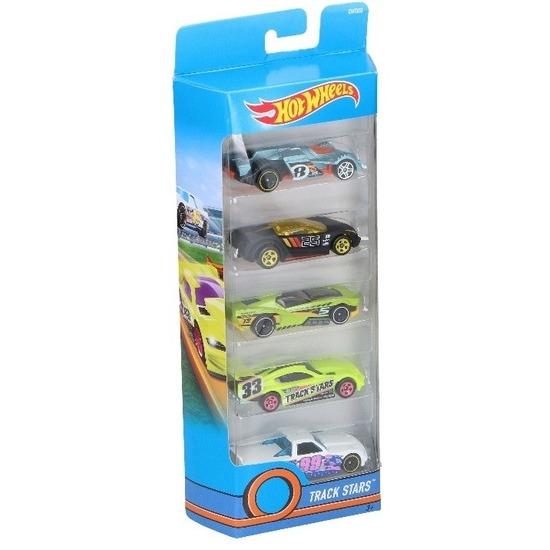 3be19bef44d0c8 Hot wheels speelgoed race wagen set 5 stuks. de set bestaat uit 5 speelgoed  race