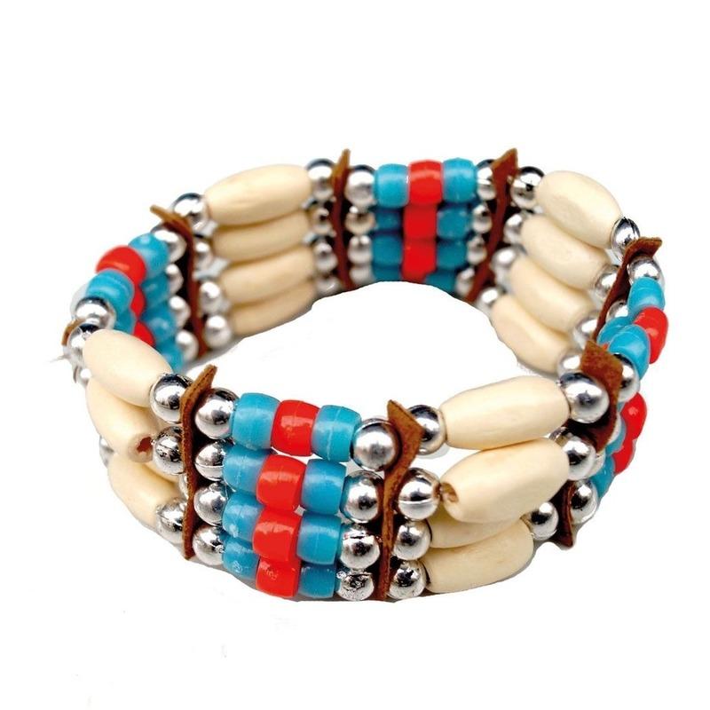 Indianen armbanden Geen Verkleedaccessoires