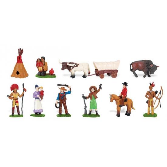 Speelgoed diversen Geen Indianen en cowboys van plastic