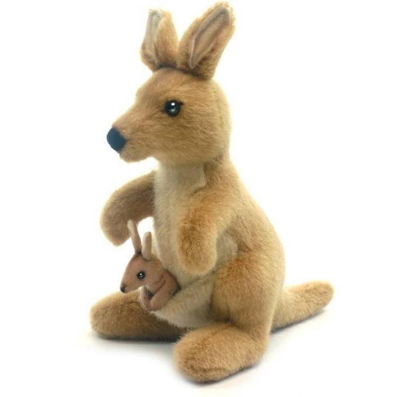 Kangoeroe knuffeldieren 20 cm