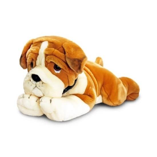 Keel Toys pluche Bulldog knuffel 120 cm