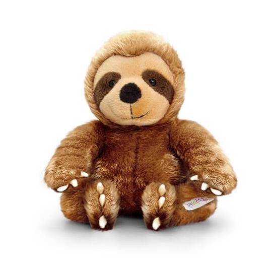 Keel Toys pluche luiaard knuffel 14 cm