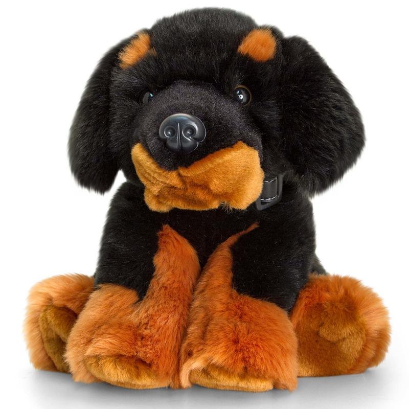 Keel Toys pluche Mastiff hond knuffel 35 cm