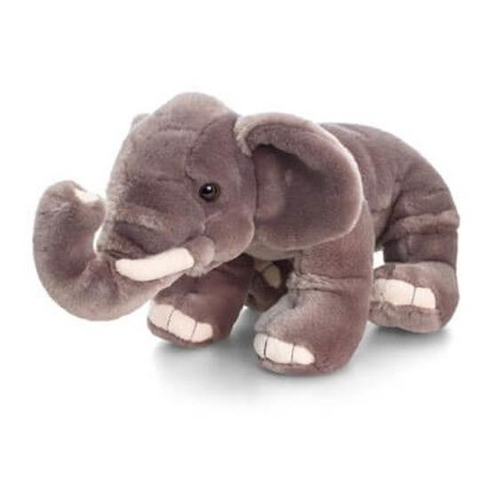 Keel Toys pluche olifant knuffel 25 cm