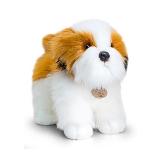 Keel Toys pluche Shih Tzu hond knuffel 40 cm