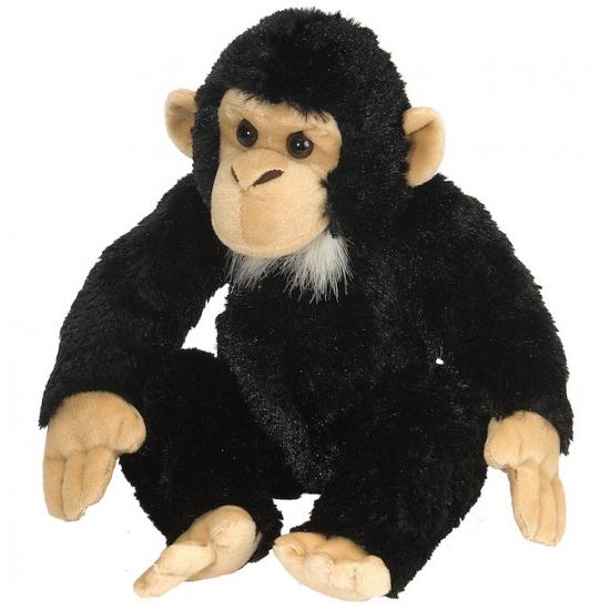 Kinder knuffel chimpansee 30 cm