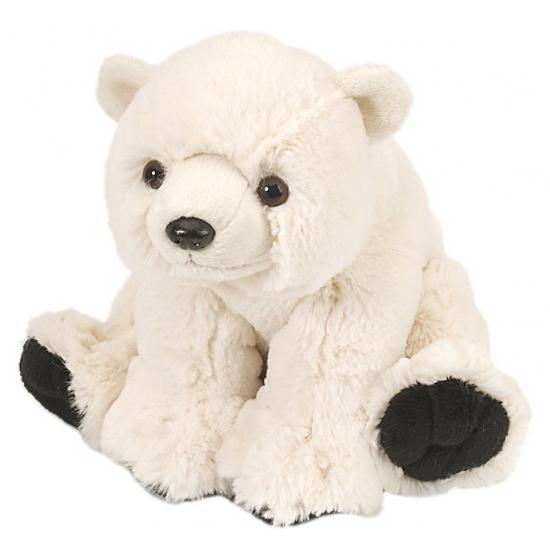 Kinder knuffel ijsbeer 20 cm