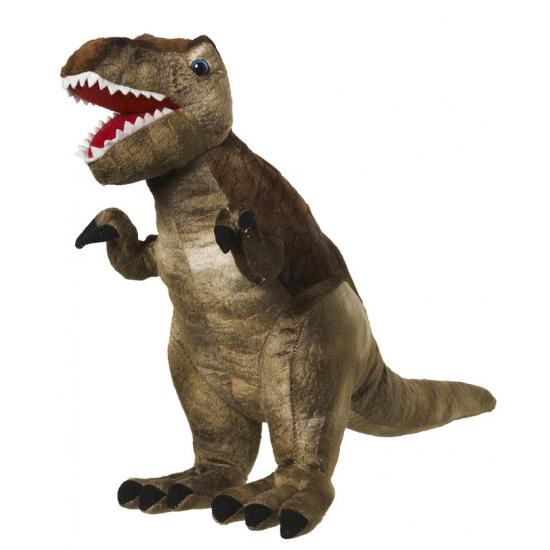 Kinder pluche knuffel T-Rex dinosaurus