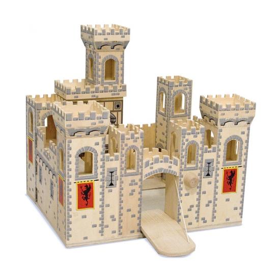 Kinder speel kasteel Medieval Geen Houten speelgoed