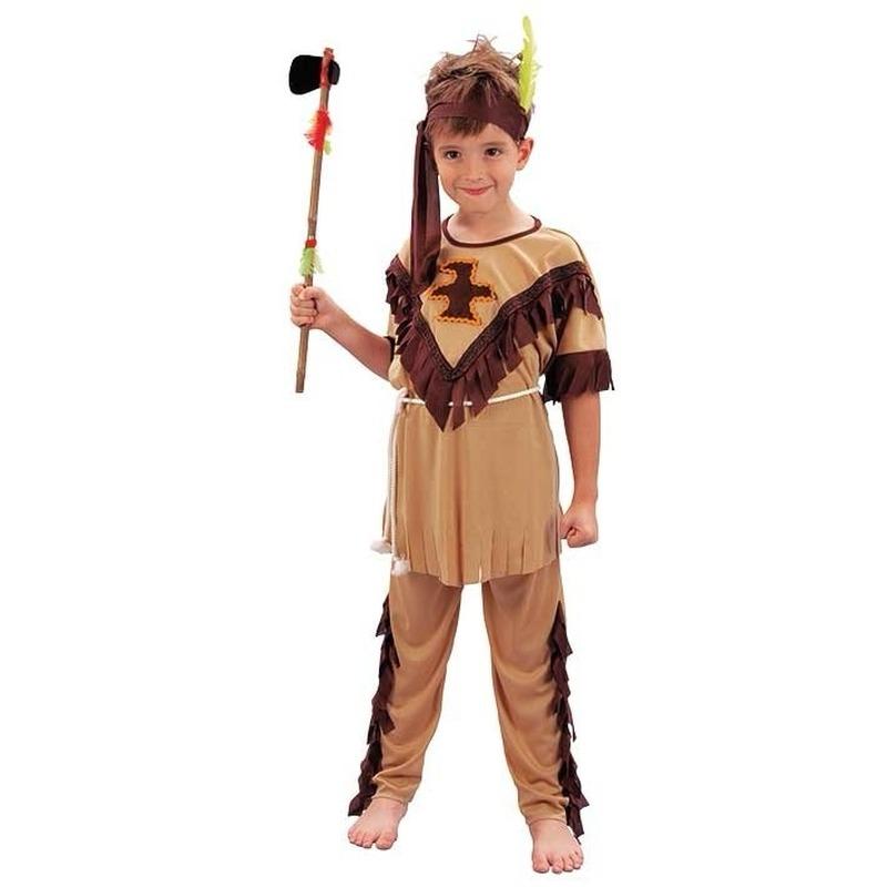 Geschiedenis kostuums Geen Kinder verkleedkleding indianen