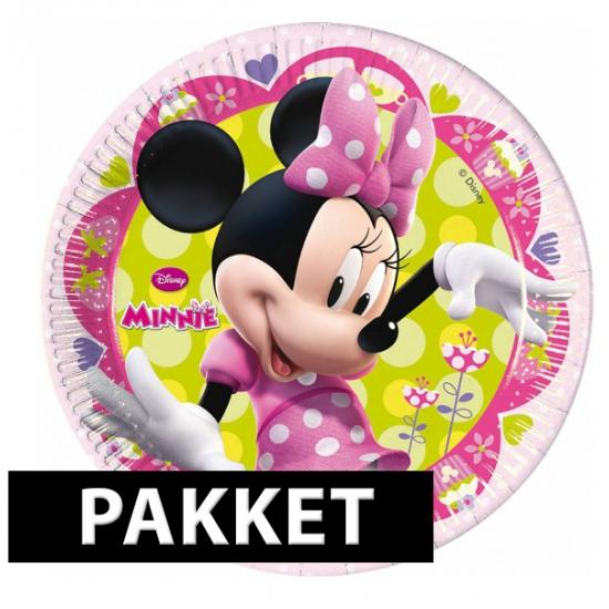 Kinderfeest Met Minnie Mouse Thema Set