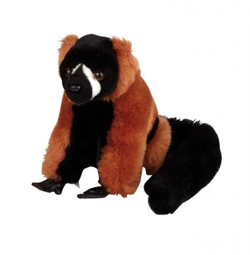 Kinderknuffel rood aapje 16cm