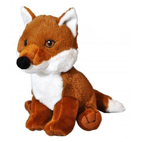 Kinderknuffel vossen bruin 23 cm