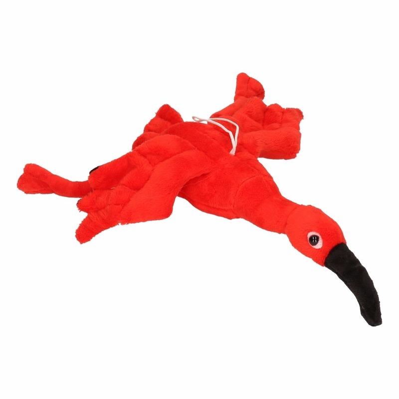 Kinderknuffels ibissen rood 34 cm
