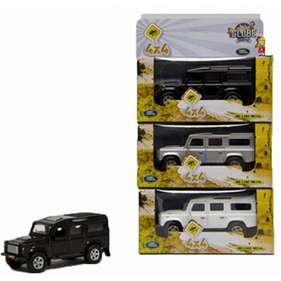 Kinderspeelgoed auto Land Rover zwart 20 cm Geen Beste koop