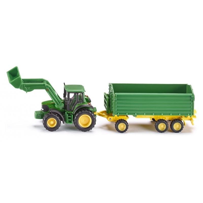 Speelgoedvoertuigen Kinderspeelgoed groene tractor