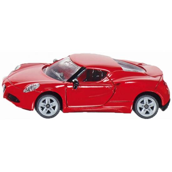 Speelgoedvoertuigen Kinderspeelgoed rode Alfa Romeo 4c