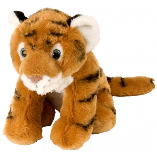 Kleine knuffeldieren tijger 20 cm