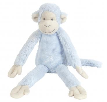 Knuffel aapjes Mickey blauw 33 cm