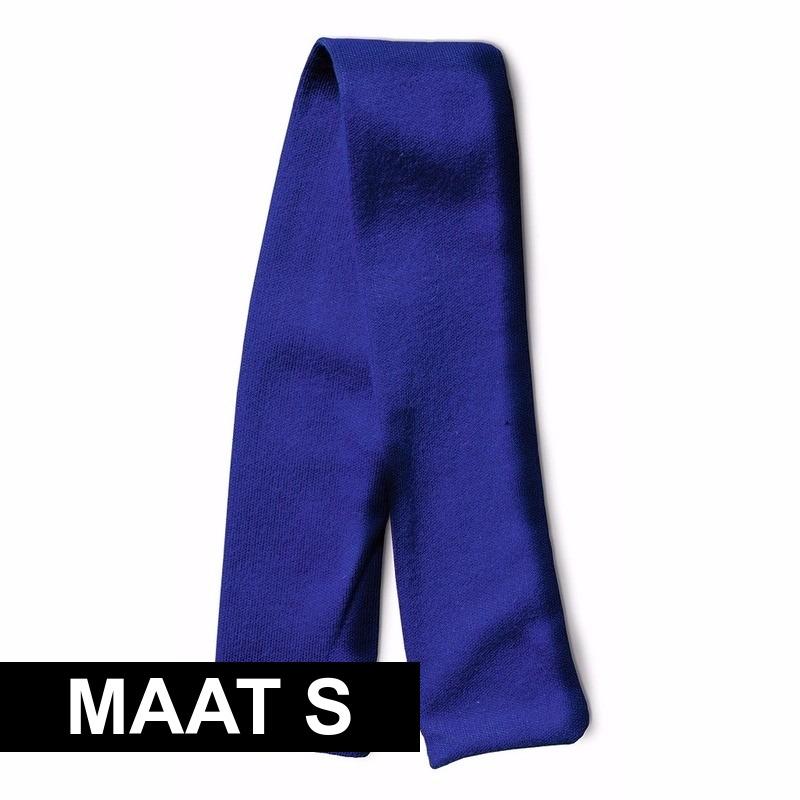 Knuffel cadeau sjaal blauw met ruimte voor wens