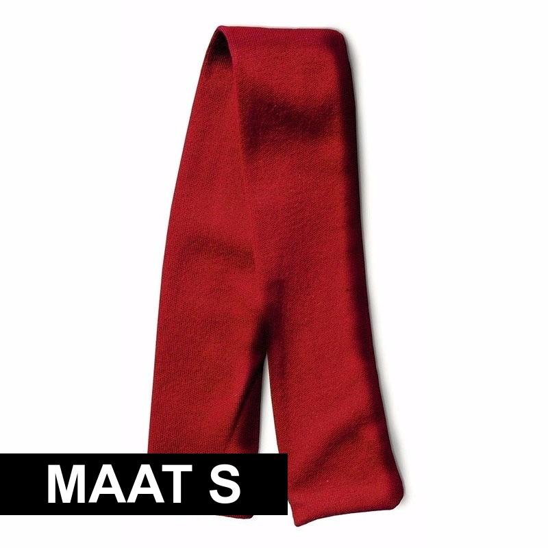 Knuffel cadeau sjaal rood met ruimte voor wens