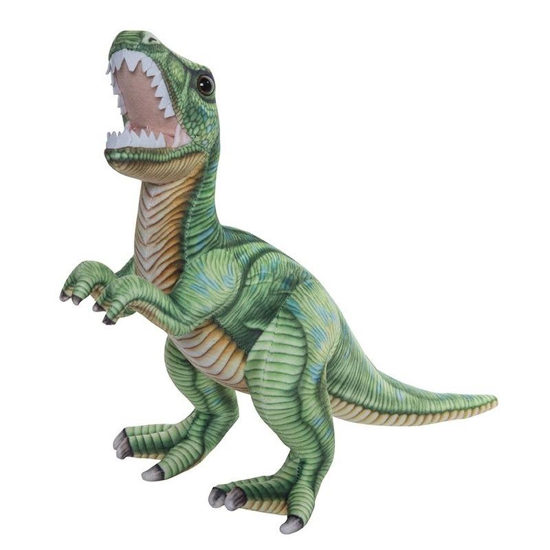 Knuffel dinosaurus T-rex 35 cm
