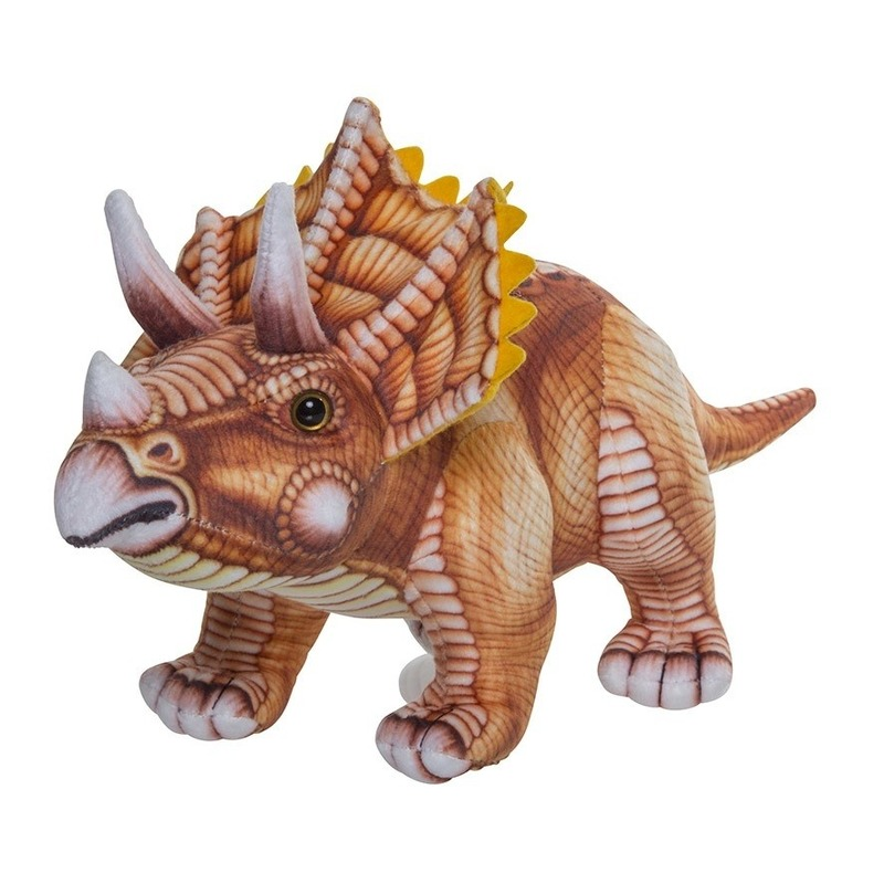 Knuffel dinosaurus Triceratops 43 cm