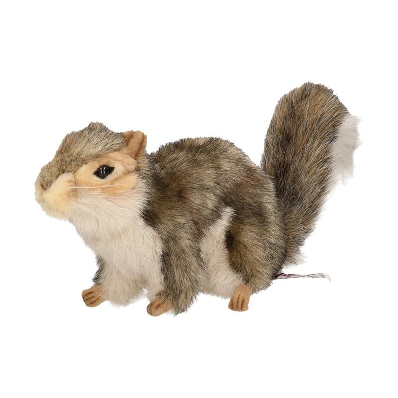 Knuffel eekhoorn 22 cm de luxe