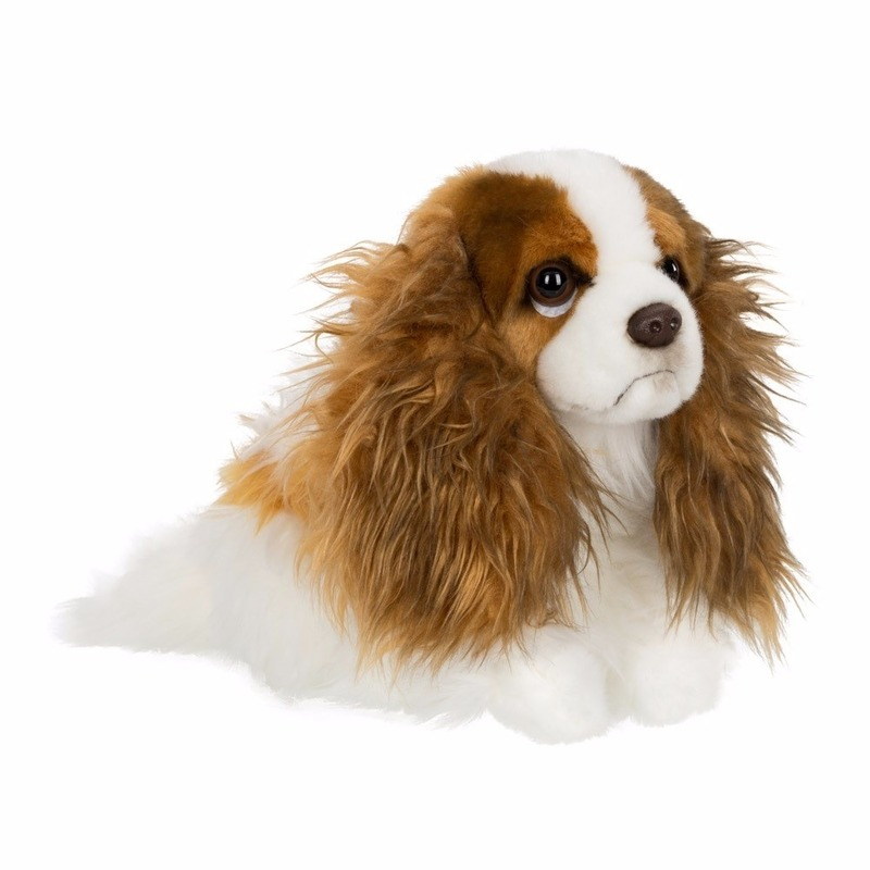 Knuffel honden Cavalier King Charles Spaniel 26 cm