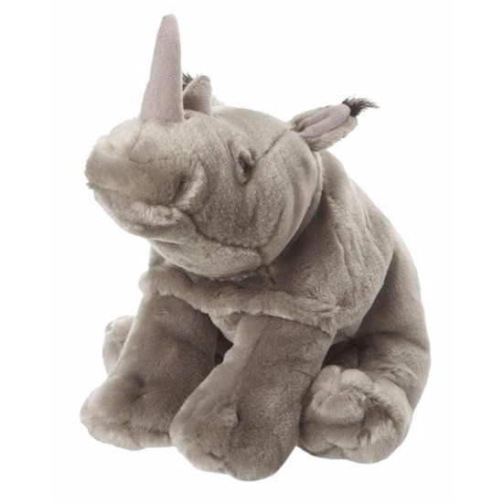 Knuffel neushoorns 18 cm