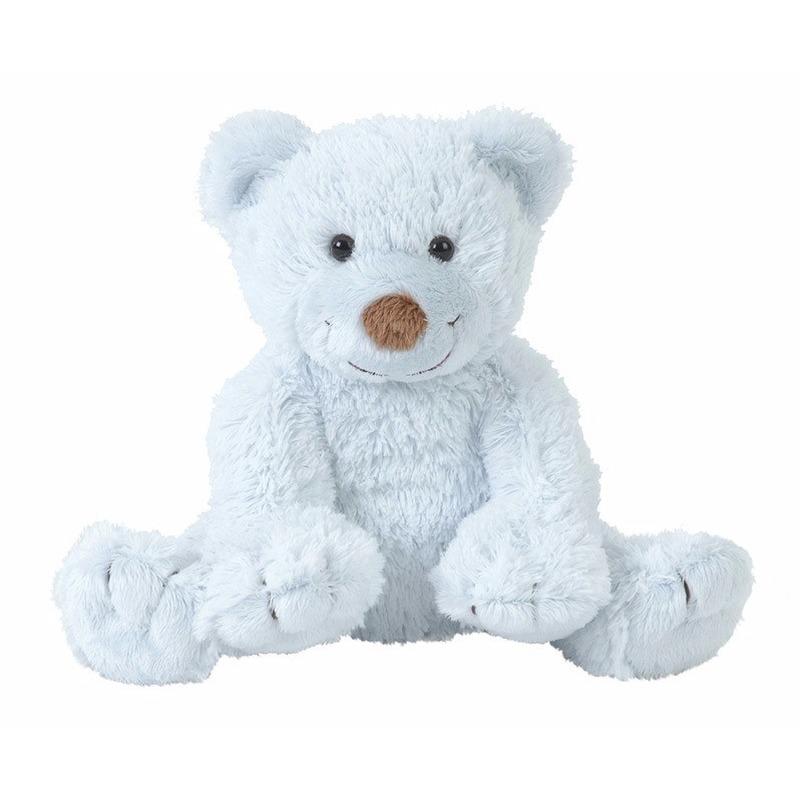 Knuffelberen Boogy blauw 24 cm