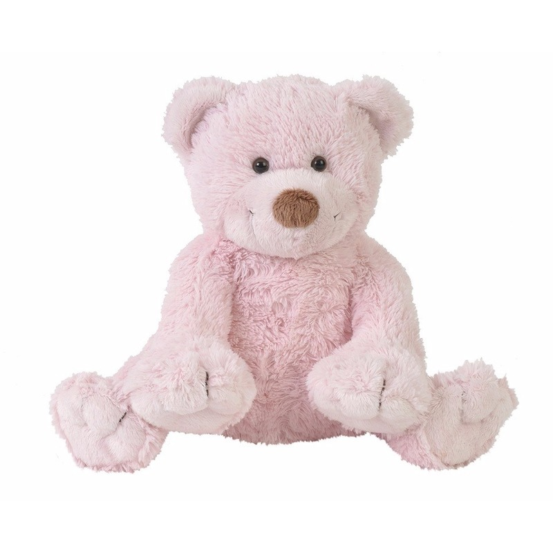 Knuffelberen Boogy roze 24 cm