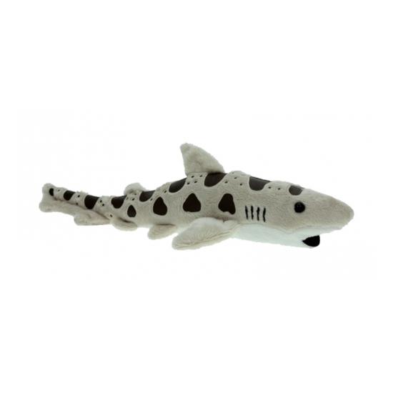 Knuffeldier luipaard haai 31 cm