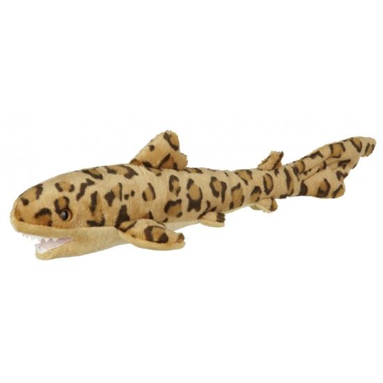 Knuffeldier luipaard haai 60 cm