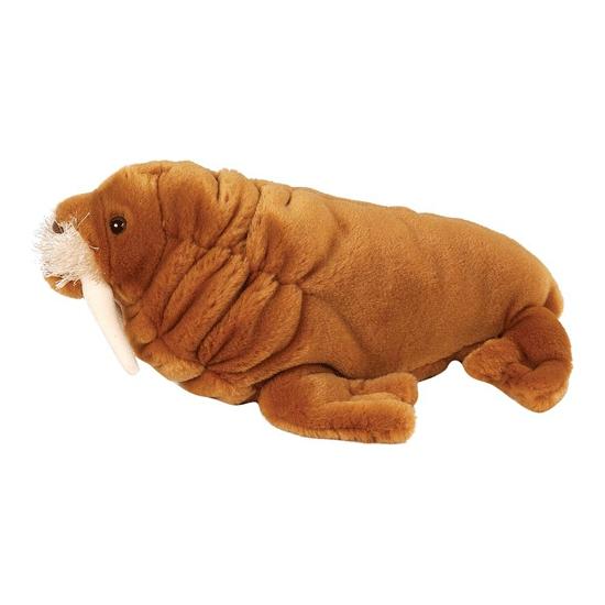 Knuffeldier walrus van pluche 30 cm