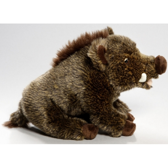 Knuffeldier wilde zwijn 28 cm