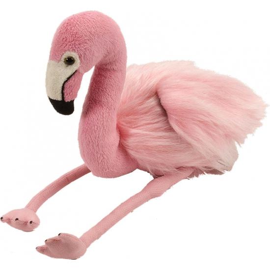 Knuffeltje flamingo 30 cm