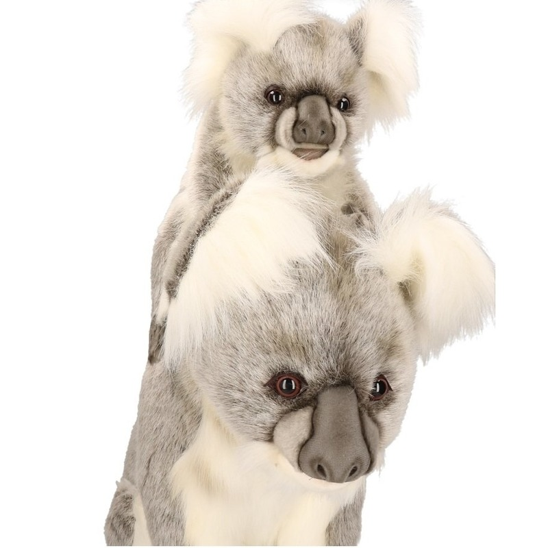 Levensechte pluche koala moeder 60 cm