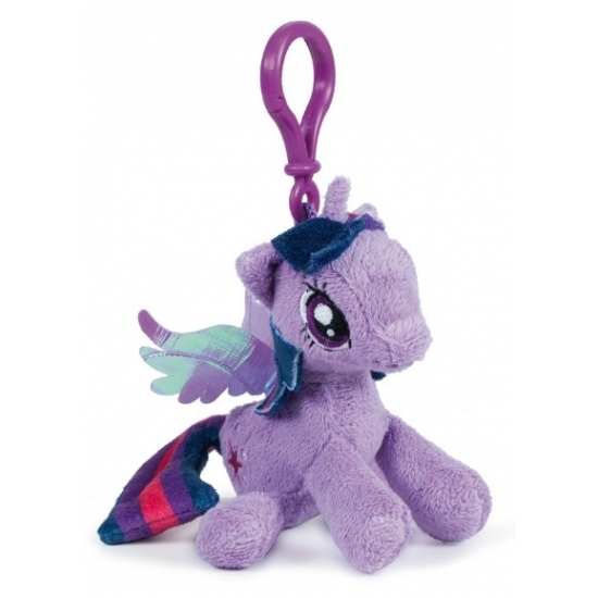 Lila Twilight Sparkle My Little Pony knuffeltje 12 cm
