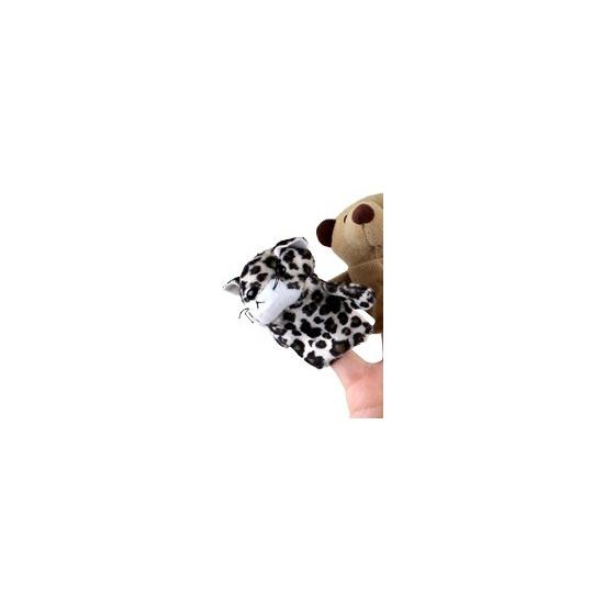 Luipaarden vingerpoppetjes