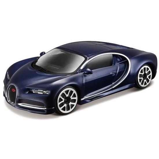 Bburago Modelauto Bugatti Chiron 1 43 donkerblauw Speelgoedvoertuigen