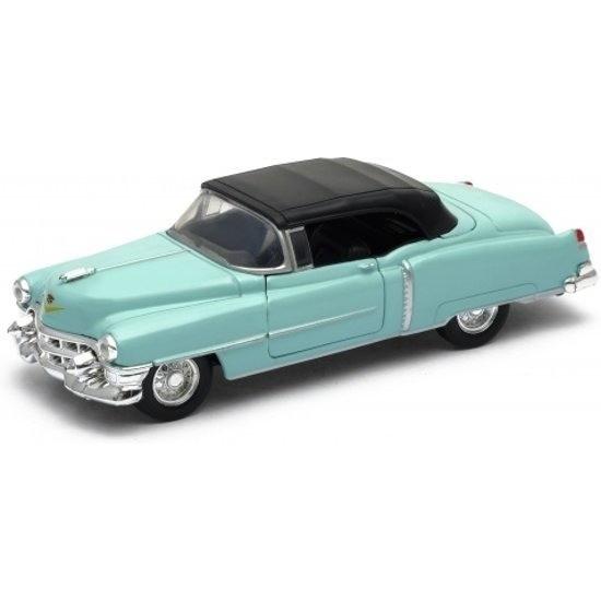 Speelgoedvoertuigen Modelauto Cadillac Eldorado groen gesloten cabrio 1953 1 34