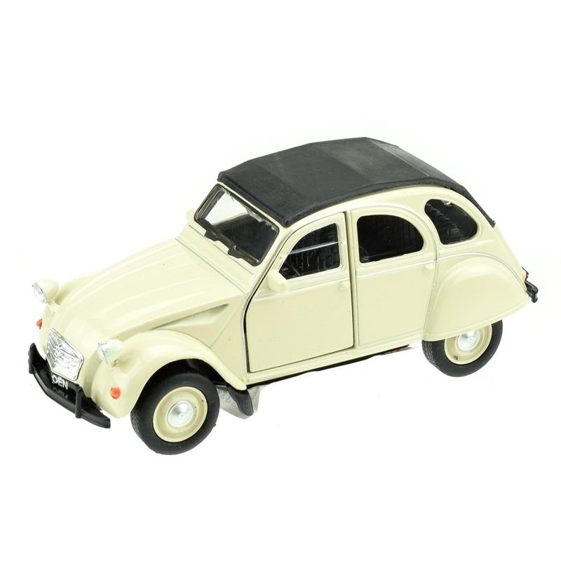 Modelauto Citro n 2CV wit 1 36 Geen Speelgoedvoertuigen
