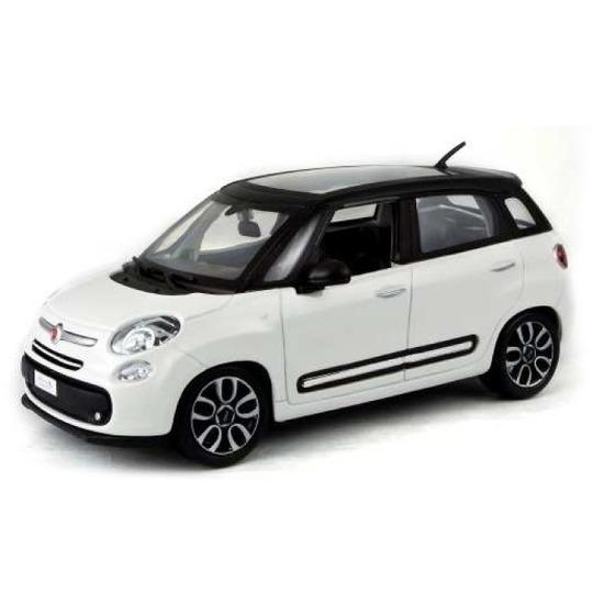 Speelgoedvoertuigen Bburago Modelauto Fiat 500 L 2013 wit 1 43