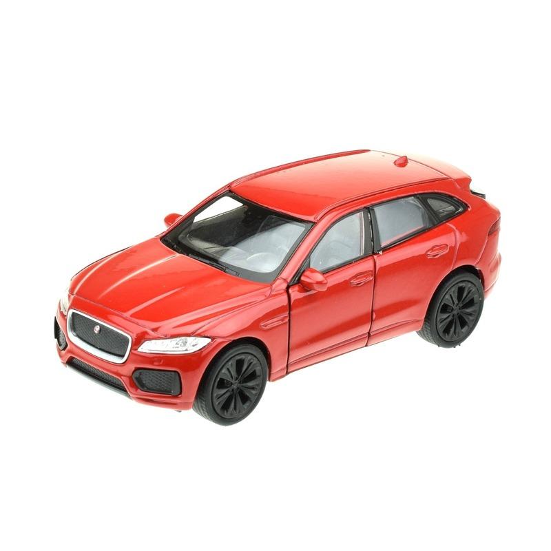 Welly Modelauto Jaguar F pace rood 1 34 Speelgoedvoertuigen